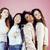 három · különböző · nemzet · lányok · bőr · haj - stock fotó © iordani