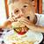 yeme · Burger · portre · sevimli - stok fotoğraf © iordani