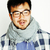 jovem · bonito · asiático · homem · óculos - foto stock © iordani
