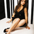 полный · девушки · черное · платье · довольно · красивой · модель - Сток-фото © iordani
