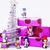pequeno · doce · elegante · brinquedos · roxo · presentes - foto stock © iordani