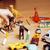 gyerekek · játszik · játékok · padló · otthon · kicsi - stock fotó © iordani