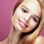 fiatal · csinos · szőke · nő · hajviselet · közelkép · smink - stock fotó © iordani