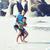 família · feliz · praia · jogar · filho · pai · caminhada · mar - foto stock © iordani