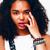 jovem · beleza · africano · americano · mulher · moda · compensar - foto stock © iordani