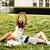 boldog · tini · lányok · elvesz · park · mobiltelefon - stock fotó © iordani