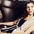 jovem · mulher · bonita · espera · sozinho · moderno · sótão - foto stock © iordani