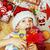 мало · Cute · мальчика · Рождества · подарки · домой - Сток-фото © iordani