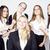 przedsiębiorców · szczęśliwy · uśmiechnięty · sukces · zespołu - zdjęcia stock © iordani