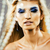 beleza · jovem · neve · rainha · fadas · cabelo - foto stock © iordani