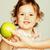 bonitinho · menino · mão · assinar · idéia - foto stock © iordani