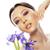 paars · orchidee · bloem · water · rustige · scène - stockfoto © iordani