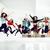 vrouwen · sport · gymnasium · springen · gezondheidszorg · lifestyle - stockfoto © iordani