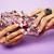 little girl stuff for princess woman hands holding small cute handbag with jewelry and manicure lu stock photo © iordani