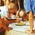 artista · scuola · bambina · pittura · ritratto · pennello - foto d'archivio © iordani
