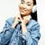 młodych · dość · asian · kobieta · stwarzające · wesoły - zdjęcia stock © iordani