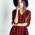 jovem · bastante · morena · menina · seis - foto stock © iordani