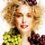 portre · genç · kadın · narenciye · gıda · kadın · genç - stok fotoğraf © iordani