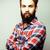 肖像 · 小さな · あごひげを生やした · ヒップスター · 男 · 笑みを浮かべて - ストックフォト © iordani
