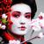 gésa · piros · kimonó · sakura · vonzó · ázsiai - stock fotó © iordani