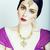 jóvenes · bastante · caucásico · mujer · como · indio - foto stock © iordani