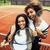 jovem · bastante · enforcamento · quadra · de · tênis · moda - foto stock © iordani