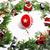 クリスマス · 装飾 · 赤 · 安物の宝石 · 雪 - ストックフォト © iordani