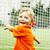 retrato · parque · futebol · crianças · criança - foto stock © iordani