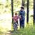 ensino · filho · ciclismo · alegre · mãe · cidade - foto stock © iordani