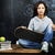 genç · sevimli · genç · kız · sınıf · tahta · tablo - stok fotoğraf © iordani