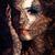 retrato · beleza · mulher · jovem · renda · make-up - foto stock © iordani