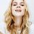 young pretty blond teenage girl emotional posing happy smiling isolated on white background lifest stock photo © iordani