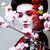 小さな · かなり · 芸者 · 着物 · 桜 · 装飾 - ストックフォト © iordani