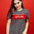 young pretty emitonal posing teenage girl on bright red background, happy smiling lifestyle people c stock photo © iordani