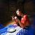 сказка · красоту · женщину · моде · красное · платье · сидят - Сток-фото © iordani