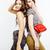 iki · en · İyi · arkadaşlar · birlikte · poz - stok fotoğraf © iordani