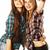 cute · tienermeisjes · geïsoleerd · witte · meisje - stockfoto © iordani