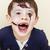 kicsi · aranyos · fiú · ahogy · zombi · apokalipszis - stock fotó © iordani