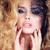 portré · szépség · szőke · fiatal · nő · fekete · csipke - stock fotó © iordani