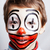 ребенка · клоуна · улыбка · вечеринка · лице - Сток-фото © iordani