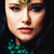 iráni · nő · gyönyörű · karcsú · fekete · ruha · lány - stock fotó © iordani