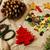 handgemaakt · geschenken · schaar · lint · papier · platteland - stockfoto © iordani