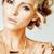 jovem · loiro · mulher · como · antigo · grego - foto stock © iordani