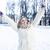 thé · café · hiver · écharpe · neige - photo stock © iordani