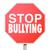 stoppen · school · geweld · stopteken · hemel · teken - stockfoto © iqoncept