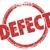 defect word red stamp bad product broken flaw bug return merchan stock photo © iqoncept