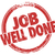 job well done stamp words task performance review stock photo © iqoncept