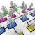 3D · ビジネス · グラフ · ボックス · 3dのレンダリング · ビジネスグラフ - ストックフォト © iqoncept