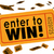 enter to win contest raffle lottery ticket words lucky 3d illust stock photo © iqoncept