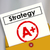 strategy document a plus grade great successful plan review stock photo © iqoncept